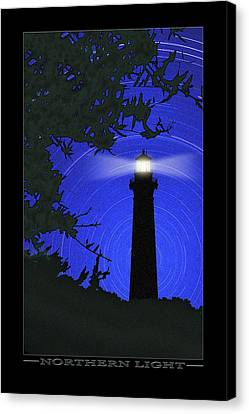 Northern Light Canvas Print by Mike McGlothlen