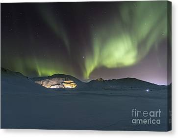 Northern Lights Iceland Canvas Print