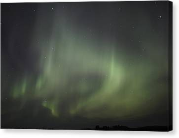 Northern Lights Over Wroxton Canvas Print