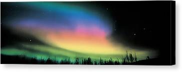 Northern Lights Canvas Print by Panoramic Images
