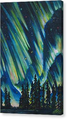 Northern Lights V Canvas Print