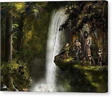 Northern Oz #46 Canvas Print by Vjkelly Artwork