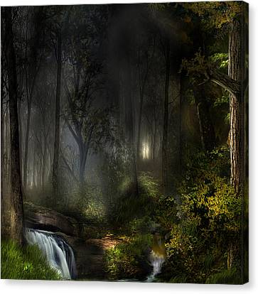 Northern Oz...#3 Canvas Print by Vjkelly Artwork
