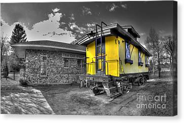 Northport Depot Canvas Print by Twenty Two North Photography