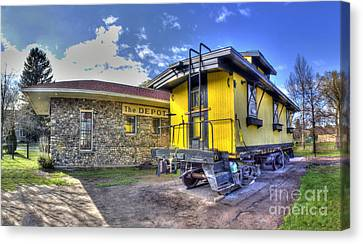 Northport Train Depot Canvas Print by Twenty Two North Photography