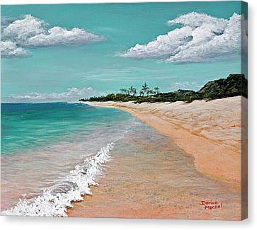 Oahu Canvas Print - Northshore Oahu  by Darice Machel McGuire