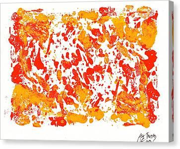Northwest Fish Canvas Print by Abram Freitas
