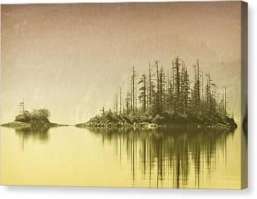 Northwest Islet Canvas Print