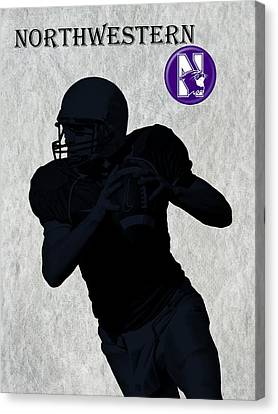 Northwestern Football Canvas Print