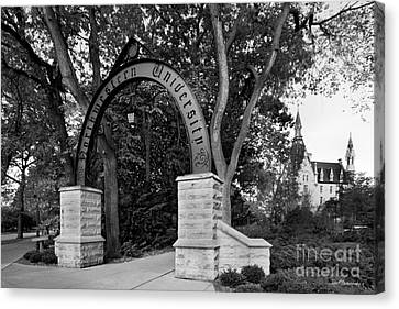 Northwestern University The Arch Canvas Print by University Icons