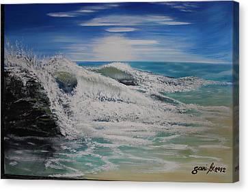 Northwind Canvas Print by Gani Banacia