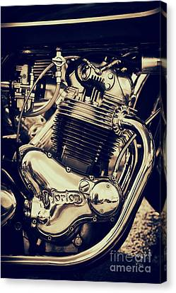 Norton Commando 750cc Engine Canvas Print