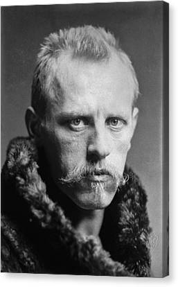 Confidence Men Canvas Print - Norwegian Fridtjof Nansen by Underwood Archives