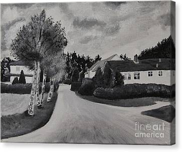 Norwegian Street Canvas Print