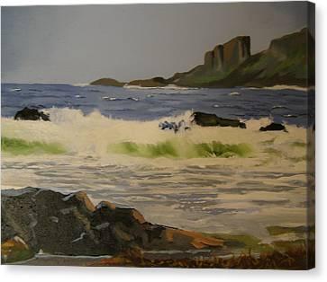 Norwick Beach Shetland Isles Canvas Print