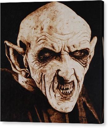 Nosferatu Canvas Print by Invictus IA