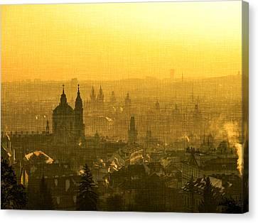 Nostalgic Prague Canvas Print