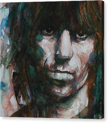 Rolling Stones Canvas Print - Not Fade Away by Paul Lovering