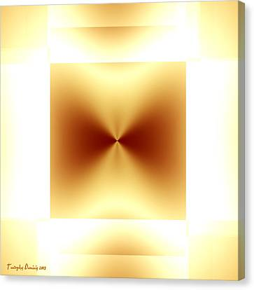 Not Malevich. 2013 80/80 Cm.  Canvas Print by Tautvydas Davainis