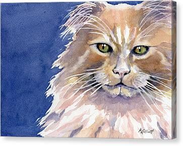 Not Too Happy Canvas Print by Marsha Elliott