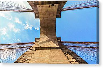Nothin But Blue Skies Brooklyn Canvas Print