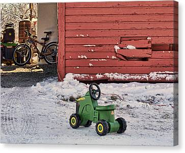 Nothing Runs Like A Deere #4 Canvas Print by Nikolyn McDonald