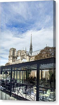 Historic Architecture Canvas Print - Notre Dame by Ivan Vukelic