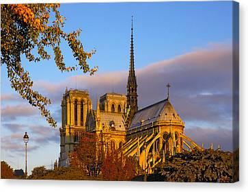 Notre Dame Sunrise Canvas Print
