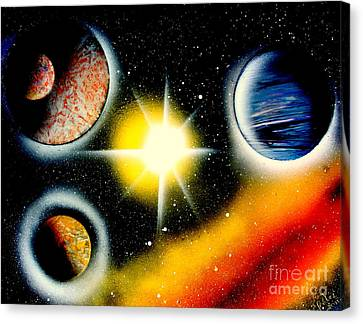 Nova 4671 E Canvas Print by Greg Moores