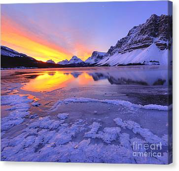 Canvas Print - November Freeze 2 by Dan Jurak