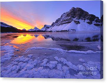 November Freeze Canvas Print by Dan Jurak