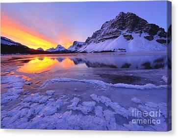 November Freeze Canvas Print