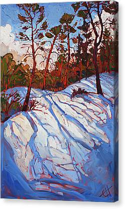 Southern Utah Canvas Print - November Zion by Erin Hanson