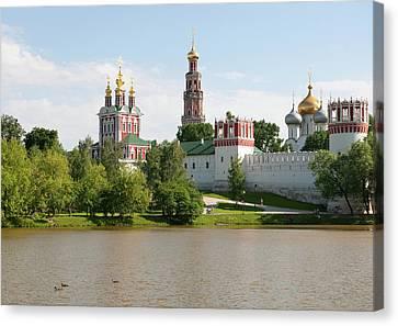 Novodevichy Monastery Canvas Print