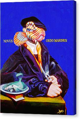 Novus Ordo Marinus Canvas Print by Patrick Anthony Pierson