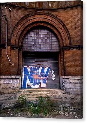 Now Graffiti Canvas Print