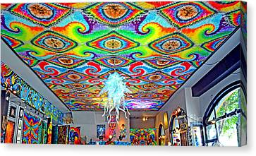 Now That's A Ceiling Canvas Print by Jim Fitzpatrick