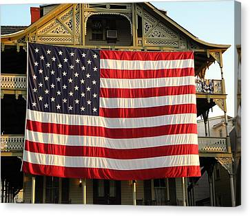Now This Is A Flag Canvas Print by John Williams