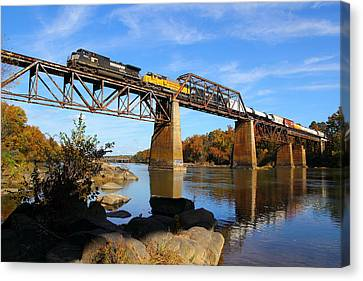 Ns Over The Congaree Canvas Print