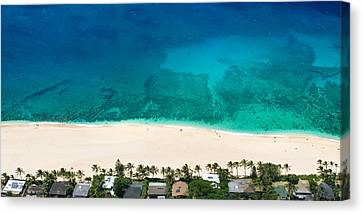 Pipeline Reef From Above Canvas Print