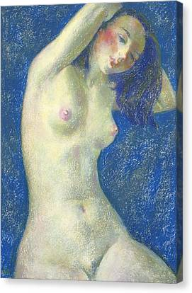 Nu 1 Canvas Print by Leonid Petrushin