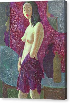 Nu 10 Canvas Print by Leonid Petrushin