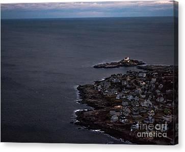 Nubble From The Air Canvas Print