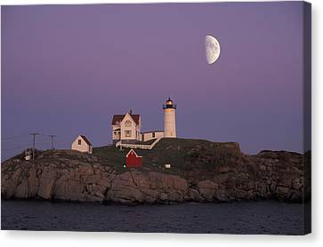 Nubble Light Canvas Print by Christian Heeb