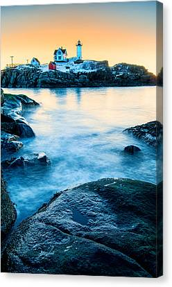 Nubble Light Canvas Print by Thomas Schoeller