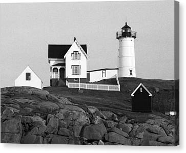 Nubble Lighthouse Canvas Print by Will Gunadi