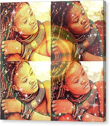 Nubian Beauty Canvas Print