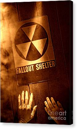 Nuclear Disaster Canvas Print by Olivier Le Queinec