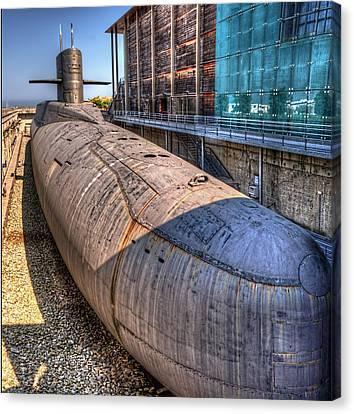 Nuclear Submarine Canvas Print by Weston Westmoreland