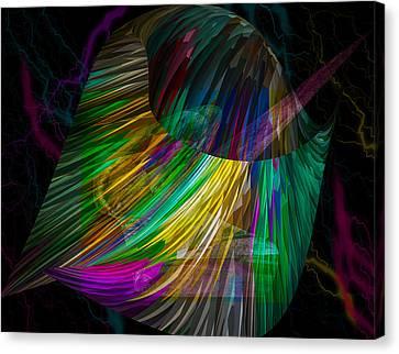 Nucleus Canvas Print by Camille Lopez